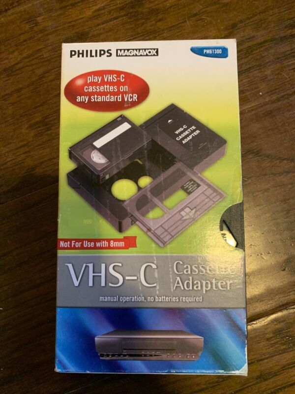 Philips Magnavox VHS-C Video Cassette Adapter PM61300