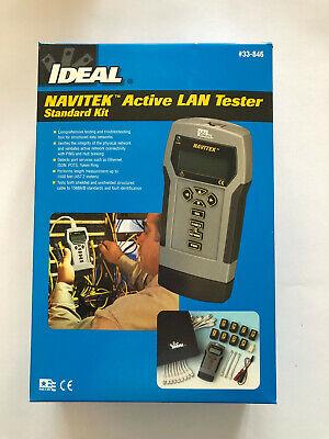 Ideal 33-846 Navitek Active Lan Tester Cable Length Tracer Complete Kit Nib
