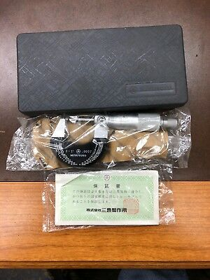 Mitutoyo 102-121 Outside Micrometer Range 0 To 1 Wcase. New Old Stock.