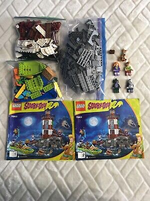LEGO Scooby Doo 75903 Haunted Lighthouse W/Instructions