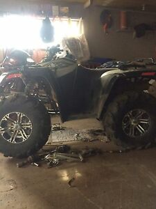 Parting out 2008 Arctic cat 700efi