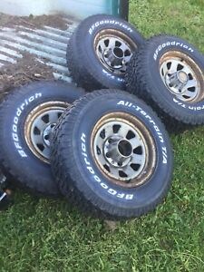 235/75/15 Tires on F-150 Rims