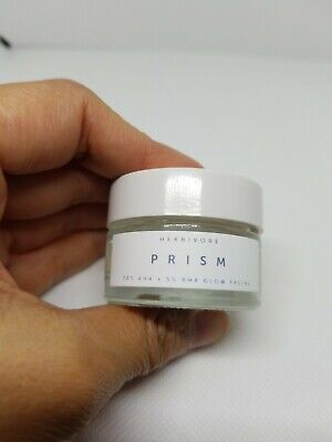 HERBIVORE Prism 20% AHA+ 5% BHA Exfoliating Glow Facial Treatment .5 oz mini