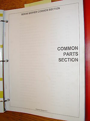 Tiger Mower Common Parts Manual Book Catalog Flail Rotary Ditcher Gang Boom List