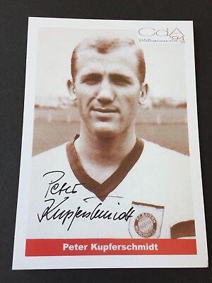PETER KUPFERSCHMIDT Bayern München signed Werbe-Autogrammkarte  10x15