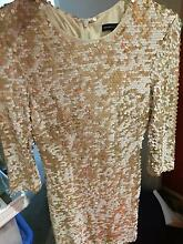 French Connection sequin cocktail dress size 8 Balwyn Boroondara Area Preview