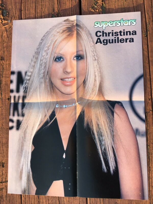 Christina Aguilera Westlife Pinup Two Sided Poster