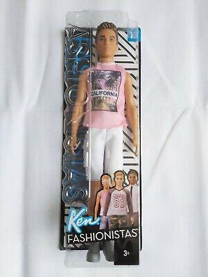 Barbie Ken Fashionista 17 2018 Doll BNIB
