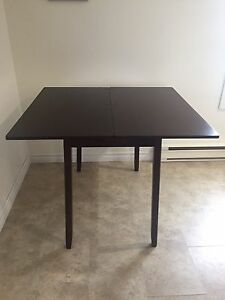 Kitchen table with storage