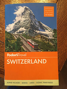 Switzerland travel book