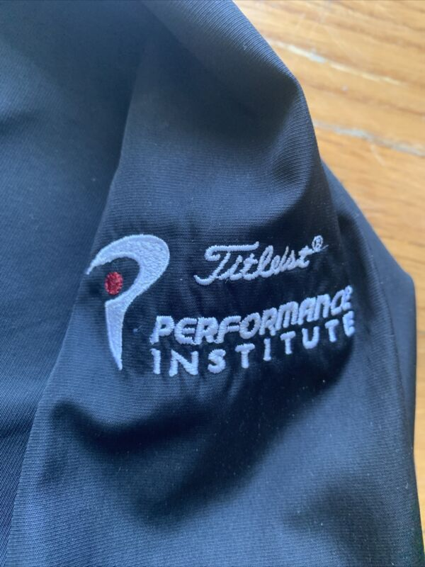 titleist performance institute xl footjoy golf v neck wind shirt pullover