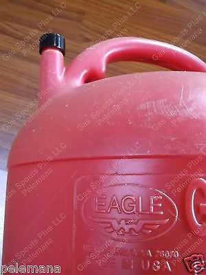 New Replacement Rear Vent Cap Black Plastic Eagle Cans Pg-5 Kp-5 Kerosene Series