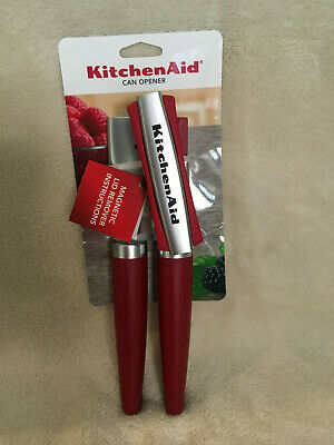 KitchenAid  Gourmet Can Opener With Magnet - Red - New in Package