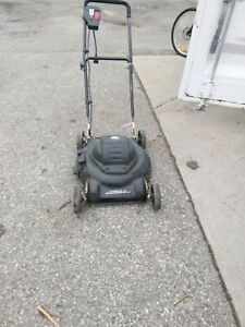 Joe mute lawn mower electric $65