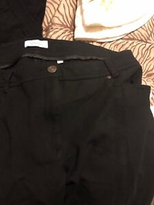 Woman's black dress slacks