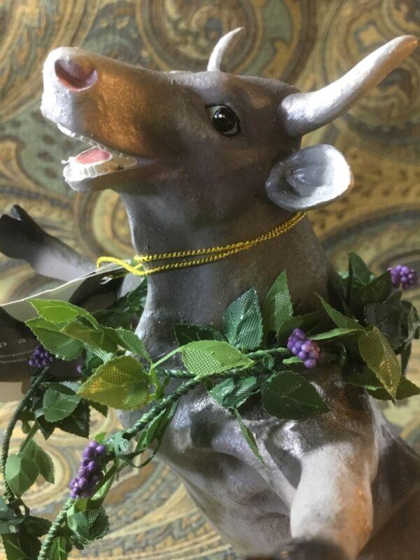 Cow Parade Kudzudora Duncown Collectible Figurine 7292 New In Box