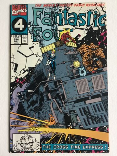 Fantastic Four 354 VF+ 1st Casey  Will Combine Shipping