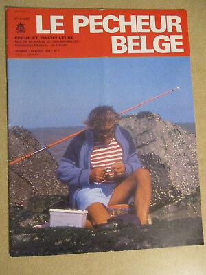 LE PECHEUR BELGE: N°1: JANVIER FEVRIER 1986: PECHE ET PISCICULTURE
