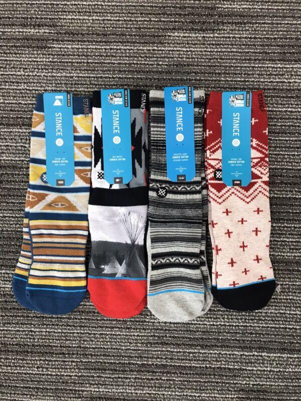 4 Pairs Of Stance Kids Socks 2-5.5