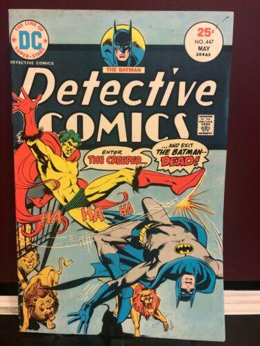 Detective Comics #447 Batman vs The Creeper