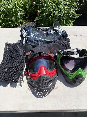 Paintball Mask And Pads