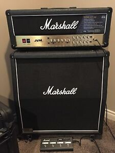 Marshall JVM 205H and 1960 lead cab