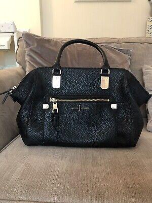jasper conran black leather bag