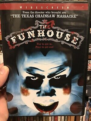 The Funhouse Dvd Horror Gore 80's Tobe Hooper