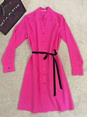 Stunning 1295 GBP ROLAND MOURET silk dress size UK 10/ IT 42/Int M/US 6 immacula