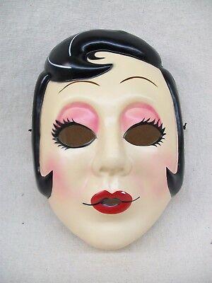 Licensed Strangers Movie Pin Up Girl Face Mask Masquerade Creepy Stalker Anime](Creepy Face Mask)