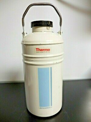 Thermo Scientific Arctic Express 10 Cryogenic Shipper 19.4 High X 8.7 Diameter