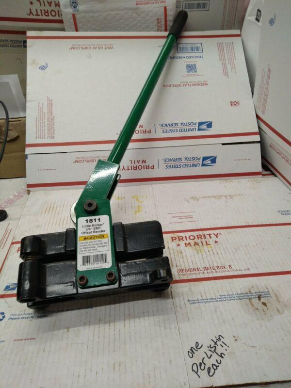 Greenlee 1811 Heavy Duty Little Kicker Offset Hand Bender for 3/4-Inch EMT #9052