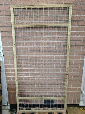 Poultry Panels 6ft x 3ft 19G Wall Panel Aviary Run Chicken Rabbits Puppy Dogs