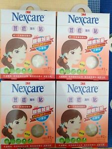 3M Nexcare Acne Care Pimple Zit Stickers Patch 4 packs/368 Pieces FAST SHIP