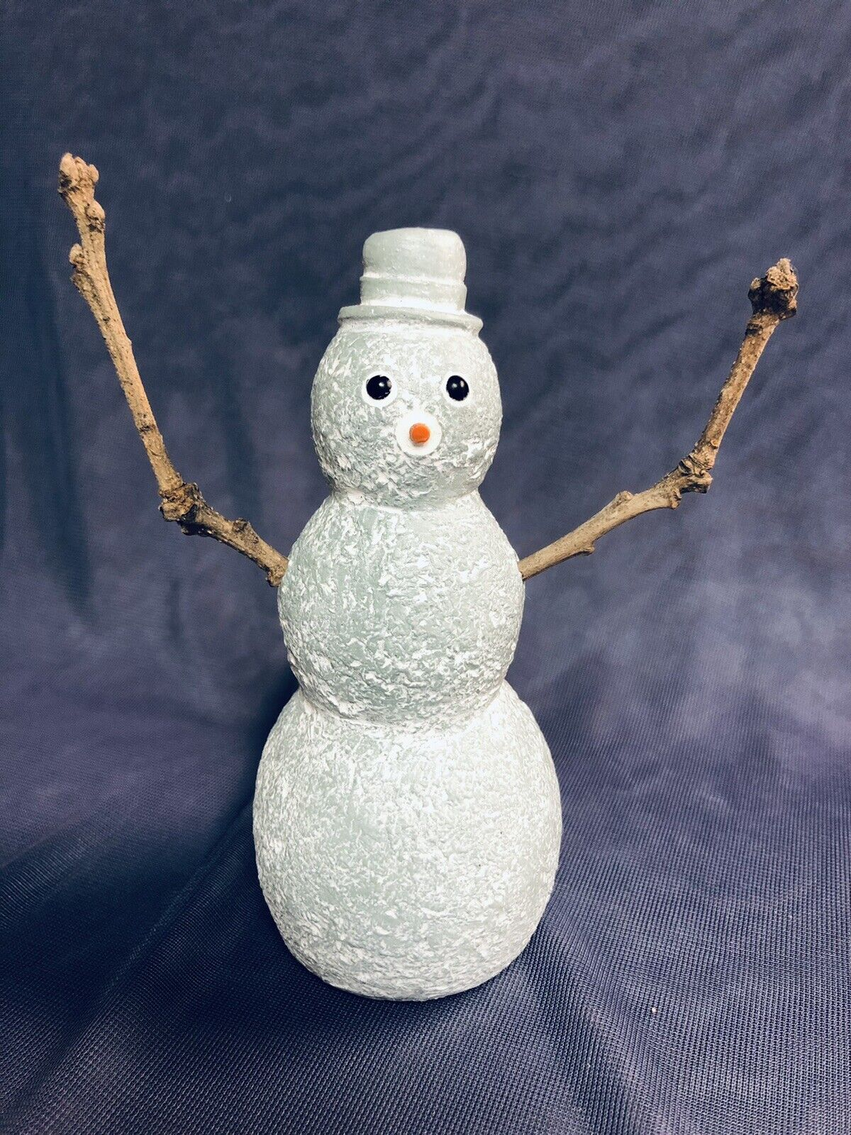 1998 Rare Retired Isabel Bloom SNOWMAN With STICK ARMS 5 Winter Friends - $15.99