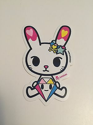 tokidoki sticker - Bunny Diamante
