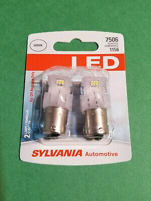 SYLVANIA 7506 Bright LED Automotive Bulbs 6000K 1156 1141 Replacment (Bp2 Automotive Replacement Bulbs)