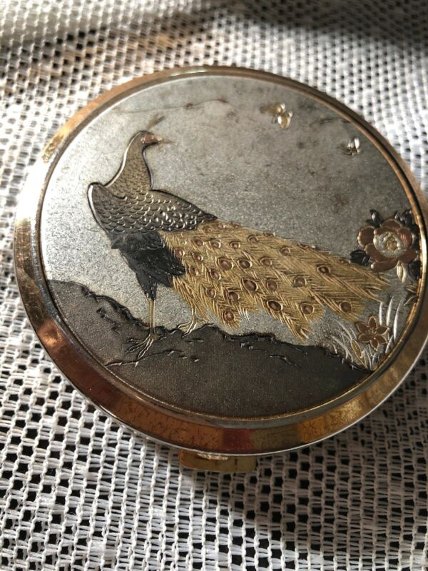 Vintage Japanese Chokin Art Compact Never Used