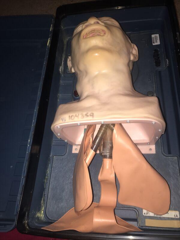 LAERDAL Airway Management Trainer Adult Intubation Model w/Hard Case
