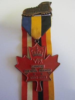 German Canadian 83 Volksmarch Wandertag Bronze Medal Baden Soellingen R C R