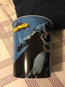 Batman Garbage Can $15