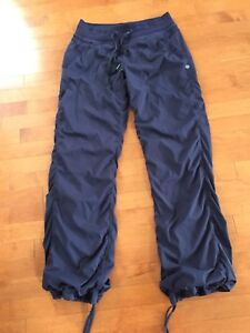 Lululemon Plum Lined Studio pants. Size 8 Reg