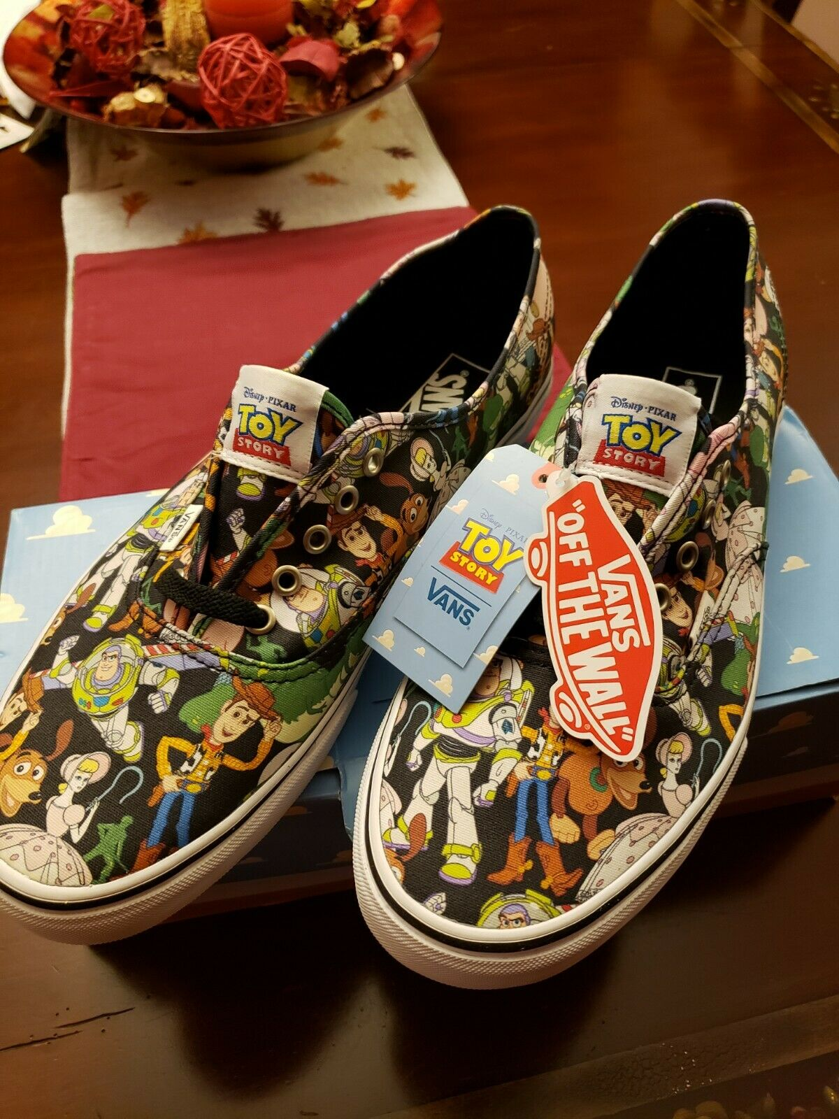Vans X Toy Story Sneakers Authentic Size 13 (US) Mens Us Disney/Pixar