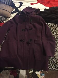 XL jacket with removable hood