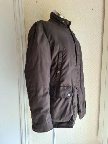 Doudoune veste homme moncler taille 5 marron glacé comme neuve