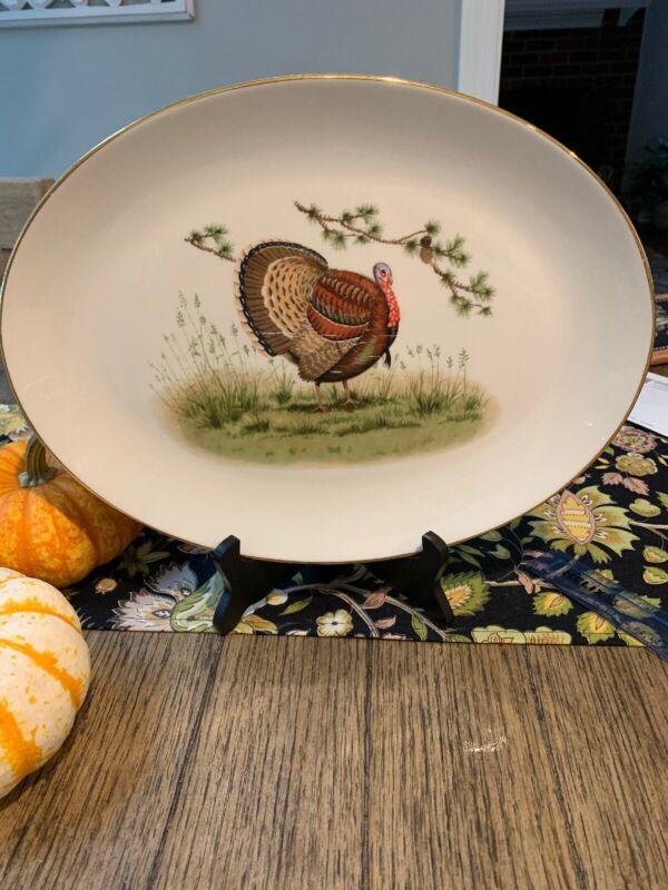 Carole Stupell Thanksgiving Turkey Platter Mid Century Modern, Retro, Vintage