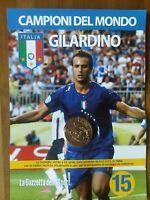 Medaglia N°15 Gilardino Gazzetta Campioni Del Mondo 2006 Finale Berlino +omaggio -  - ebay.it