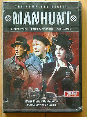 NIB MANHUNT COMPLETE 1970 SERIES 26 EPISODES 7-DISC BOX SET BEST OF BRITISH