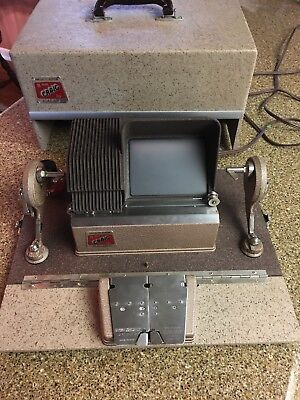 CRAIG  KE-8 Projecto Editor for 8 mm Film by KALART with hard Case~clean~