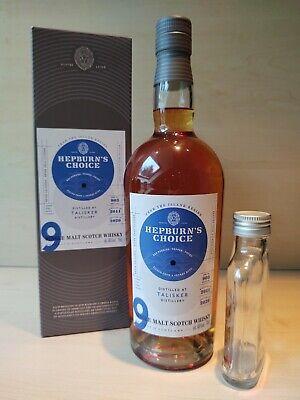Talisker Hepburn's Choice Single Malt Scotch Whisky, Sample, Probe 10cl/100ml